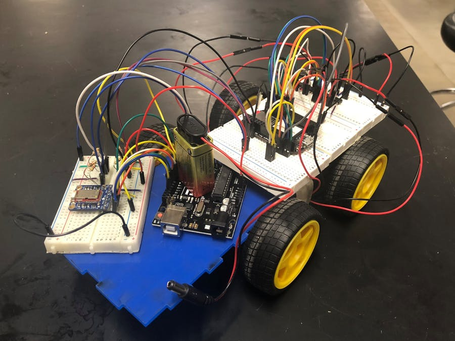 Remote Control Car w/ PocketBeagle and Arduino image