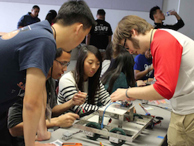 Educator Highlight -  Berkeley Students Mentor High School Robotics using BeagleBone® Black