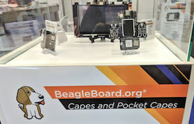 Two New PocketBeagle® Capes Debut at Embedded World