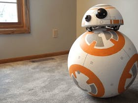 BeagleBoard.org® Classic Project - BB-8 Uses Omniwheels and BeagleBone® for Self-Balancing Head